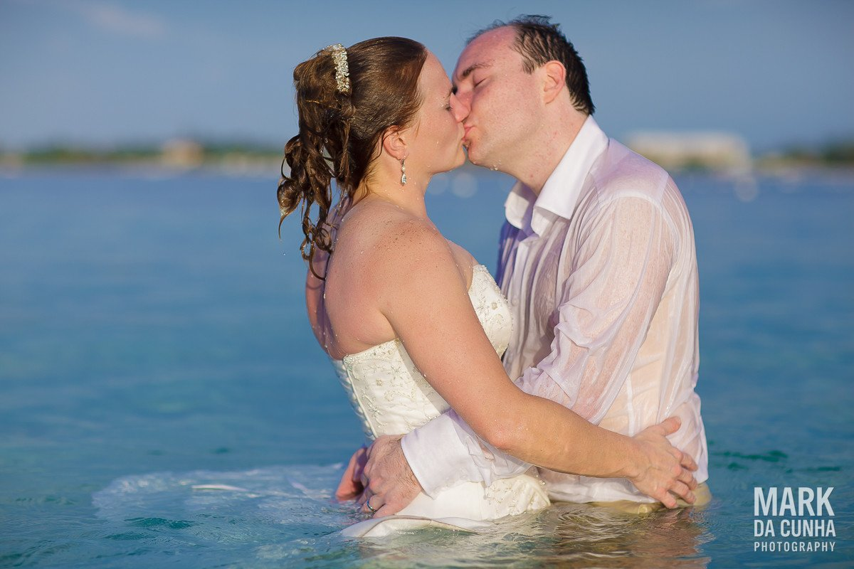 Trash the Dress Bahamas Wedding